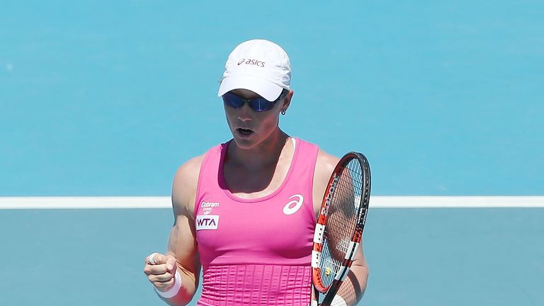 Samantha Stosur: Through to the semi-finals in Hobart