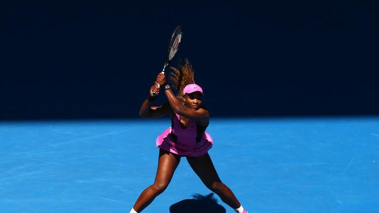 Serena Williams: Through to the fourth round of the Australian Open