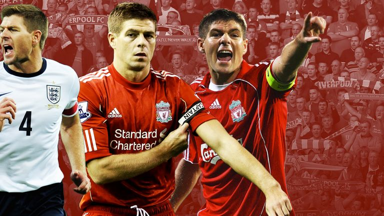 Steven Gerrard: 'I have looked up to all the captains I have ever played with, or for, as I see it'