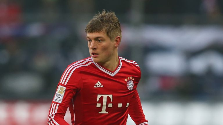 Toni Kroos: Has been heavily linked with a move to Manchester United