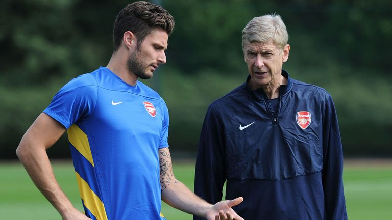 Giroud: would he suffer if Wenger signed in January?