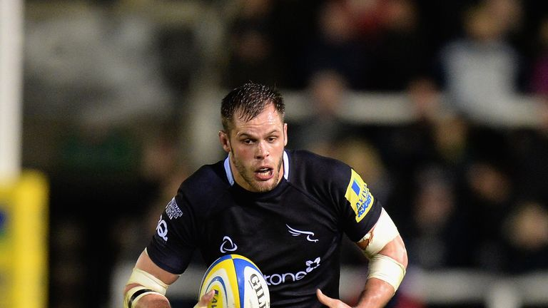 Will Welch: Named as Newcastle Falcons captain once again for the 2014/15 season