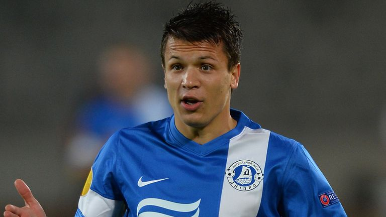 Yevhen Konoplyanka: Dnipro Dnipropetrovsk winger wanted by Liverpool