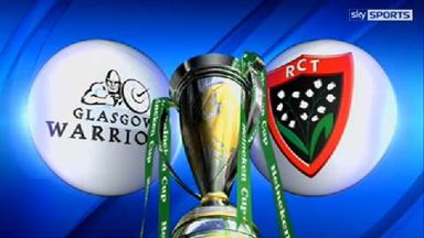 Glasgow v Toulon - Highlights