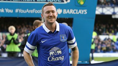Aiden McGeady: Hoping to help Everton for the remainder of the season