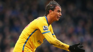 Chamakh has committed his future to Crystal Palace by signing a new two-year contract