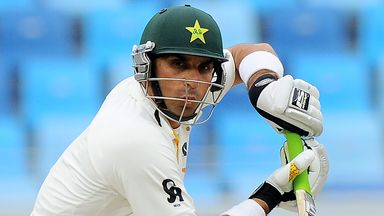 Misbah-ul Haq: Frustrated with pitch and poor batting