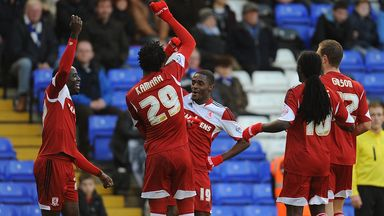 Mustapha Carayol (c): Happy to be back in the fold at Middlesbrough