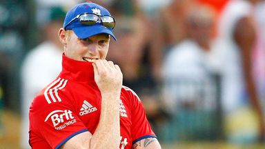 Ben Stokes: Broke his hand punching a locker in the West Indies.