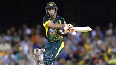 Glenn Maxwell: Australian continued good IPL form but again narrowly missed out on century