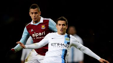 Marcos Lopes: Lille loan move for Manchester City midfielder