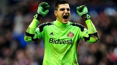 Vito Mannone: Sunderland keeper hoping to celebrate staying up