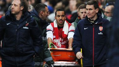 Theo Walcott: Arsenal winger won