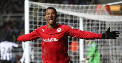 Fraizer Campbell: Headed home an 80th minute winner for Cardiff