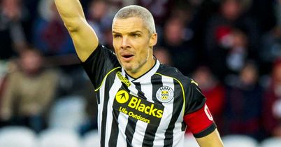 St Mirren appeal Goodwin red