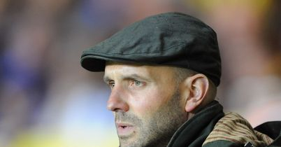 Paul Tisdale: Aggrieved by refereeing decision