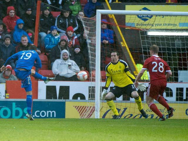 Danny Williams lashes home Inverness' winner