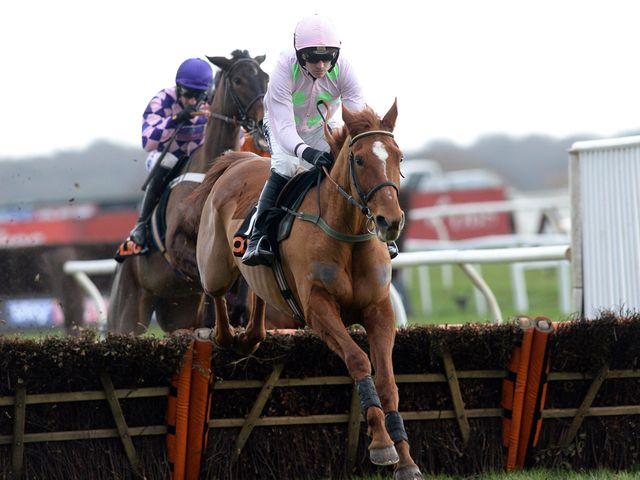 Annie Power: On her way to an easy win at Doncaster