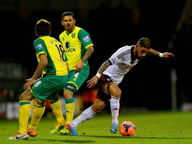 Ashkan Dejagah in action for Fulham
