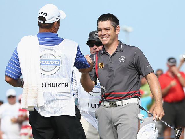 Louis Oosthuizen: Birdied the last two holes for victory