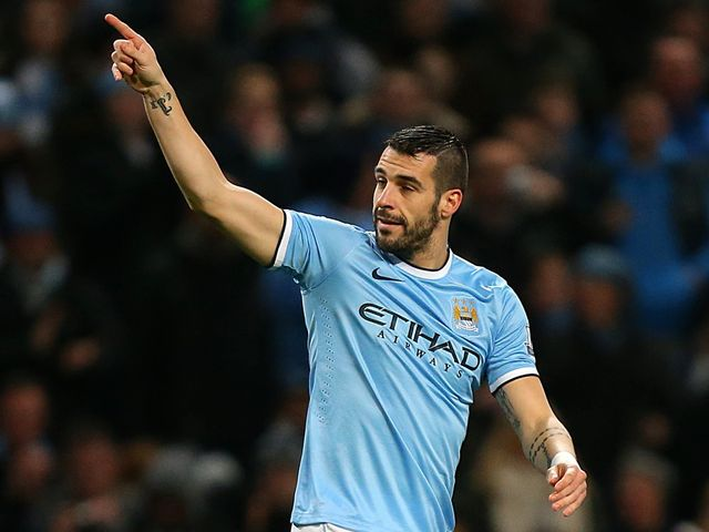 Alvaro Negredo: Could be back in action for Manchester City