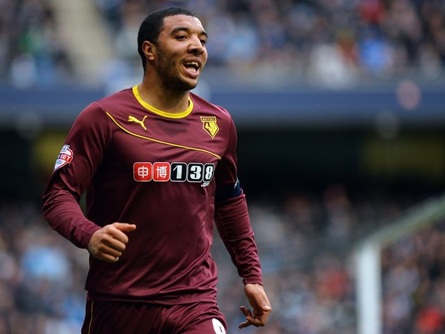 Deeney: Two goals for the Hornets