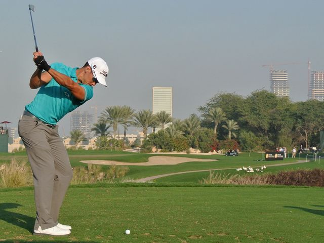 Cabrera-Bello: Two-shot halfway lead in Qatar
