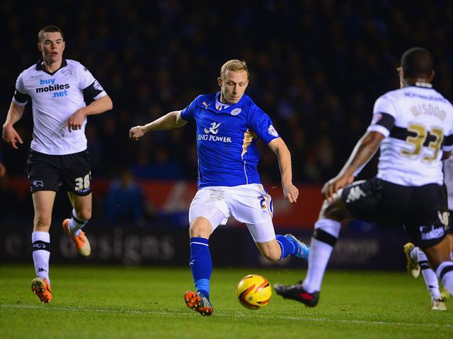Ritchie De Laet fires Leicester into the lead