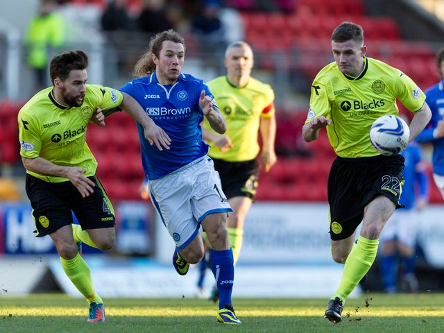 Stevie May finds himself crowded out
