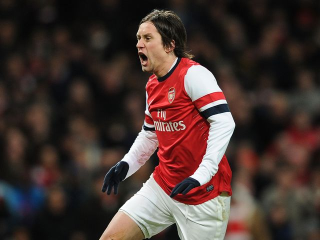 Tomas Rosicky: Could be back for Arsenal on Tuesday