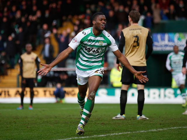 Joel Grant: Scored for Yeovil