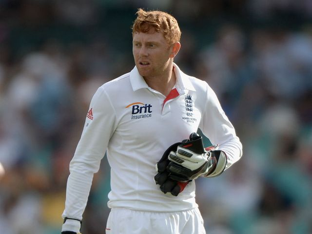 Bairstow made an unbeaten 60 for Yorkshire