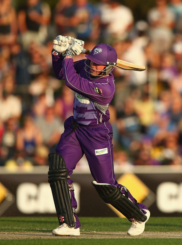 Ben Dunk: Hobart Hurricanes batsman top scored with 87