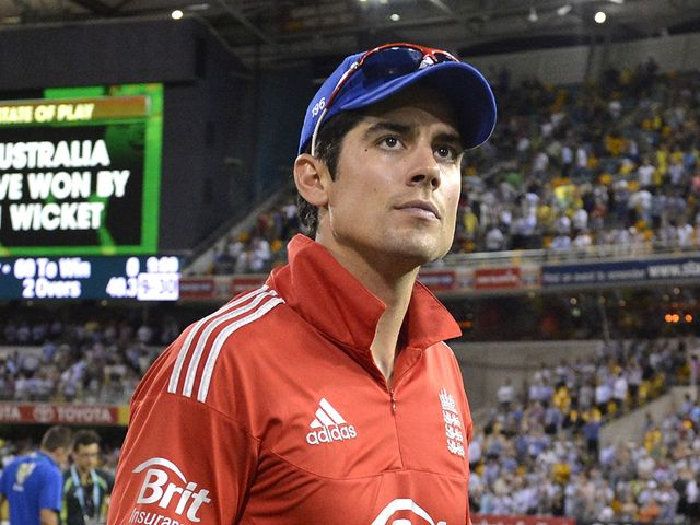 Cook is dejected after his team loses once again