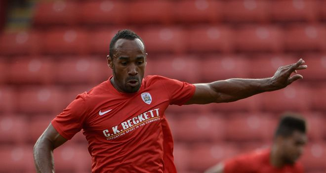 Chris O'Grady: Hit two goals for Barnsley