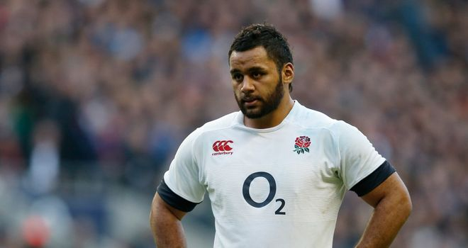 Billy Vunipola: Looking to answer the hostile crowd at Stade de France