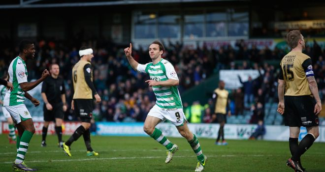 James Hayter: Inspired Yeovil to their win at Birmingham