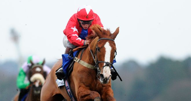 Jamie Moore partners Sire De Grugy to another Grade One win