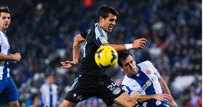 Augusto Fernandez earmed a late win for Celta Vigo