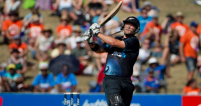 Corey Anderson: Hit form for Mumbai in victory over Kings XI Punjab