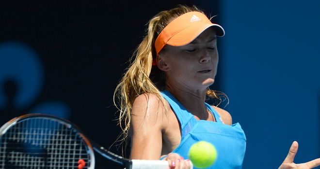 Daniela Hantuchova: Reeled off a run of five successive games to take control