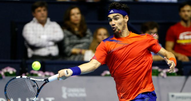 Fabio Fognini: An injury doubt ahead for the Australian Open