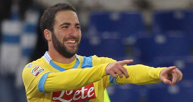 Jose Mourinho does not think Gonzalo Higuain will be coming to Stamford Bridge