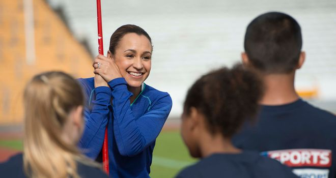 Jessica Ennis-Hill: Will talk to 300 young people in Sheffield