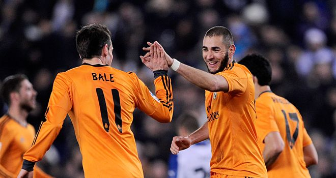 Karim Benzema: Celebrates his winner