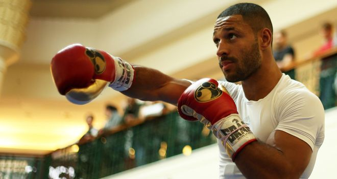 Undefeated Brook will warm-up in Liverpool