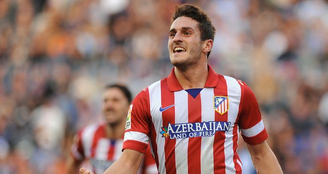 Koke: Midfielder's goal sent Atletico Madrid top