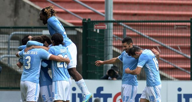 Lazio enjoy victory at Udinese