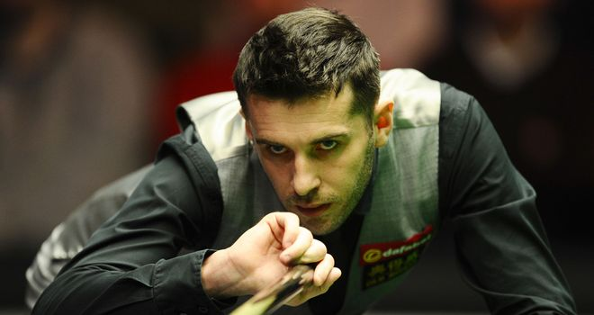 Mark Selby: Edged a cagey 55-minute final frame to beat Mark Davis