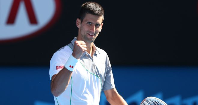 Novak Djokovic: Backed to prevail in straight sets against Stanislas Wawrinka